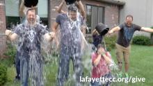 LCC Staff does ice bucket challenge